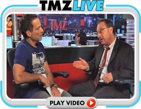 "Harvey Levin of TMZ (TMZ Live) in an interview with Daniel Horowitz regarding the ""Mel Gibson"" lawsuit filed by Horowitz against Mel Gibson relating to his battery against his girlfriend Oksana Grigorieva. This is a link (click on the photo of Levin and Horowitz) that lasts about an hour and was aired on TMZ"