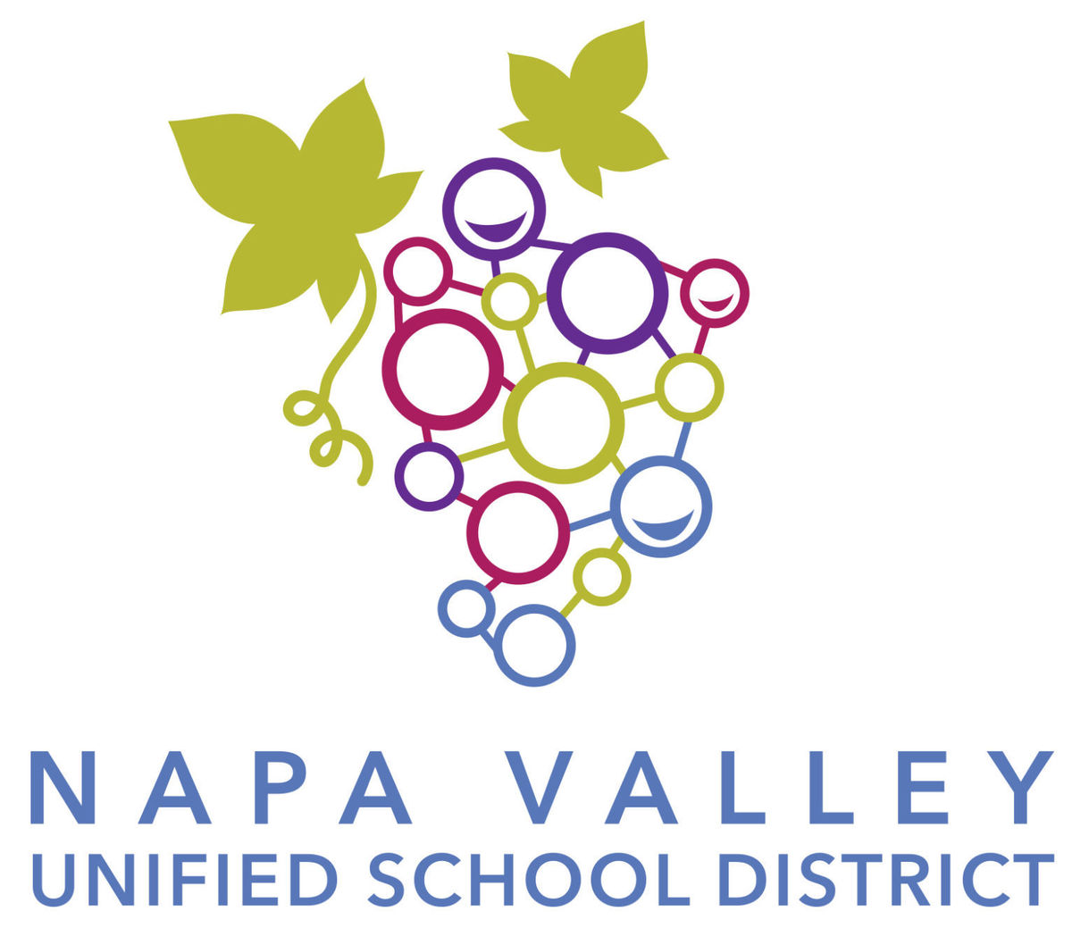 Log of Napa Valley Unified School district where Tom Kensok is a member of the school board of napa and practices school law as a member of the napa school board this is the board logo and links to his bio